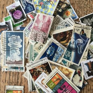 Postage Stamps, Vintage Uk and Overseas