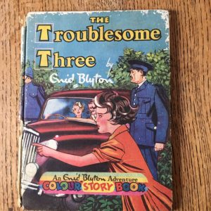 VIntage Children's Book, The Troublesome Three