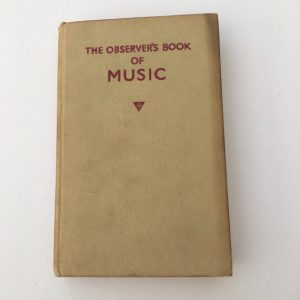 Vintage Book, The Observer's Book of Music