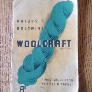 Vintage Knitting Booklet, Patons and Baldwins