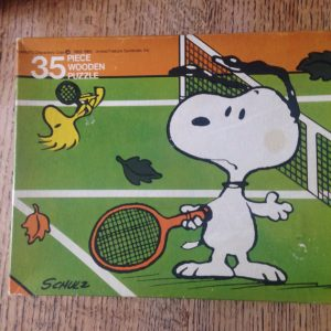 Vintage Snoopy Puzzle, Snoopy and Friends