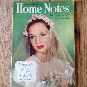 Vintage Women's Magagazine, Home Notes, Weekly Magazine