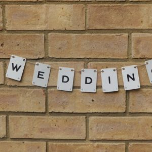 Wedding Vintage Playing Card Bunting