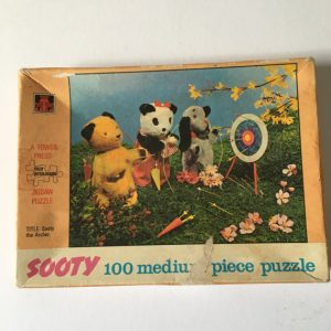 intage Sooty Puzzle, Sooty the Archer Puzzle